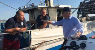 Pepe conferma l'arrivo delle risorse per i primi interventi presso il Porto peschereccio di Giulianova