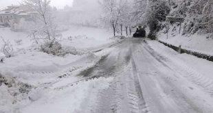 Teramo sotto una coltre di neve > AGGIORNAMENTO h. 19,00 terminata l'emergenza