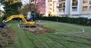 Street basket, a Montesilvano iniziati i lavori per il campo di Fosso Foreste
