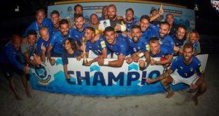 La Nazionale italiana di Beach Soccer arriva a Chieti