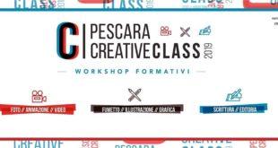 Pescara Creative Class: al via da giovedì corsi gratuiti per under 35