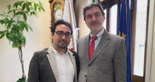 Il Presidente Marsilio in visita al Sindaco di Teramo