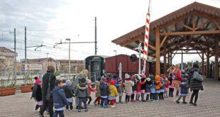 Prosegue il programma visite di scolaresche al Museo del Treno, gestito da Acaf