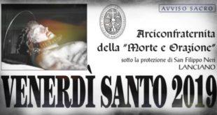 """Settimana Santa: a Lanciano si riproporrà la tradizione della """"Posata"""""""