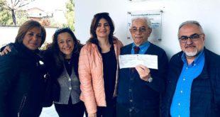 Pasqua solidale: l'Istituto comprensivo Pescara 6 sostiene l'Ail con una donazione