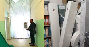 Ospedale di Atessa, visita a sorpresa del Consigliere regionale Taglieri (M5S)