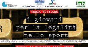 Chieti, 'I giovani per la legalità nello sport': confronto all'Università D'Annunzio