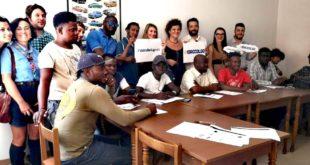 """Giornata mondiale del rifugiato: Teramo """"città aperta al mondo""""Unicef abbraccia i ragazzi dello SPRAR"""