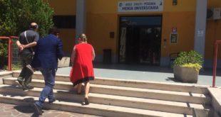 Blasioli in visita a mensa universitaria e la casa dello studente della D'Annunzio