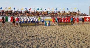 A Martinsicuro tappa promozionale dell'Italia Beach Soccer 2019