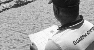 Guardia costiera: attività di polizia demaniale, scatta la denuncia per il concessionario di uno stabilimento di Roseto