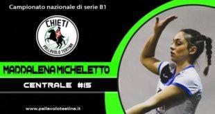 Volto nuovo in casa neroverde: Maddalena Micheletto