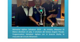 Francavilla al Mare, un successo il memorial Agliaro Salvatore