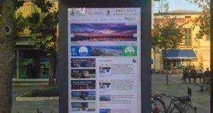Attivato a Giulianova il totem multimediale