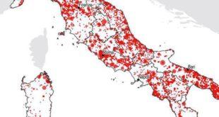Abruzzo e consumo di suolo, dati preoccupanti dal Rapporto ISPRA 2019