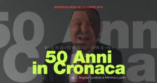 """Montesilvano, """"50 anni in cronaca"""", Piergiorgio Orsini: racconto il mio 'paese' – VIDEO"""