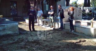 Ossa al Cimitero di Montesilvano: questa mattina l'intervento di carabinieri e polizia municpale