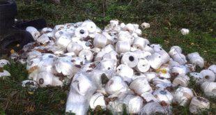 Montesilvano, tornano i rifiuti abbandonati sul lungofiume. Cilli annuncia controlli, multe e fototrappole