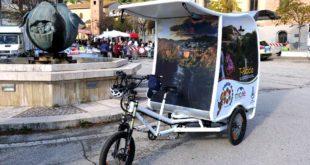 A Montorio parte il T-Riciclo con la  bici cargo a pedalata assistita per la pulizia e lo spazzamento