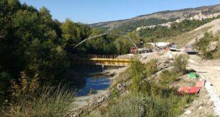 Caramanico, completati i lavori per fronteggiare il dissesto idrogeologico iniziato con la frana del 1989