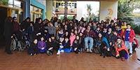 Grande partecipazione alla passeggiata empatica con la scuola Maurizio Berardinucci