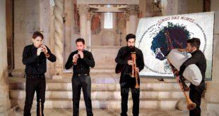 """""""L'eco dei monti"""" in uscita il primo CD del Quartetto Petra: ancestrali suoni di zampogne e ciaramelle"""