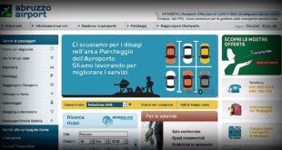 Aeroporto di Pescara, presentato il nuovo portale web gestito da Saga