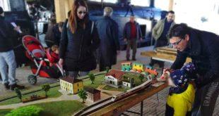 """Da domenica 8 dicembre, torna l'edizione de """"IL TRENINO DI NATALE"""" al museo del treno di Montesilvano."""