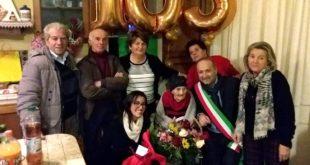 Auguri a Leondina Marini, la nonnina spoltorese spegne 103 candeline