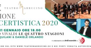 Chieti, nuova stagione concertistica del Teatro Marrucino