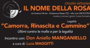 "Don Aniello Manganiello a Giulianova ""CAMORRA, RINASCITA E CAMMINO"""