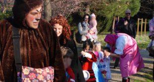Super Carnevaleal Parco della Libertà, con Elsa di Frozen