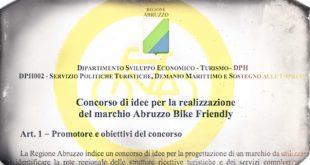 Abruzzo Bike Friendly: la Regione pubblica il bando per un logo …per il vincitore un attestato