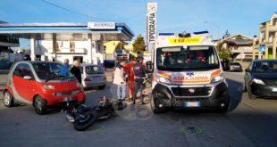 Centauro tampona autoveicolo, nuovo incidente sulla Via Vestina