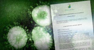Coronavirus: negativi 12 test al virusCovid 19, il Presidente firma l'ordinanza per gestione emergenza (DOCUMENTO)