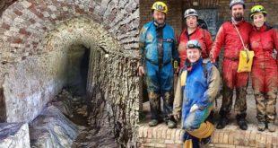 Esplorato a Giulianova uno dei cunicoli sotterranei dell'antica rete di captazione delle acque