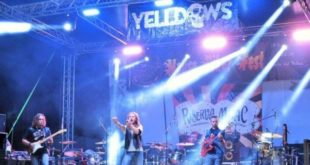 Yelldows in concerto a Chieti Scalo