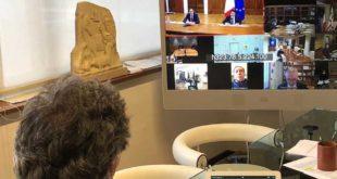 Covid-19: Marsilio in videoconferenza su decreto Cura Italia pone il tema sospensione piani di rientro
