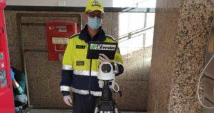 Coronavirus: Al presidio sanitario della stazione di Giulianova un sistema per la misura della temperatura corporea