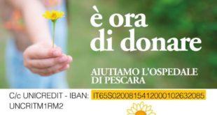 Adricesta aiuta l'ospedale di Pescara con una raccolta fondi