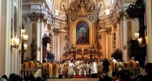 Chieti,in Cattedrale a Chieti la Messa Crismale con partecipazione ristretta