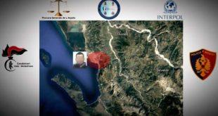Spacciatore e protettore viene arrestato a Valona, il suo percorso di fuga ricostruito grazie ai Carabinieri di Vasto e Montesilvano