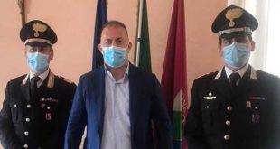 Incontro in comune con il nuovo comandante della stazione dei Carabinieri di Montesilvano