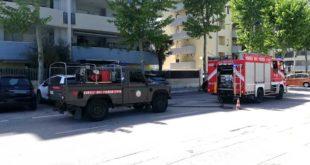 Principio di incendio domato dai VV.FF. a Montesilvano