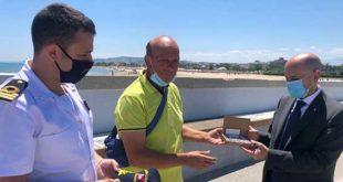 La Guardia Costiera di Giulianova ricevela visita del Prefetto di Teramo