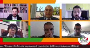 Crisi in Abruzzo, le misure del Governo:  il viceministro Misiani snocciola le cifre nella conferenza stampa Pd