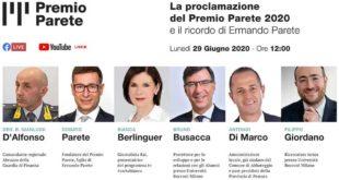 A Giorgio Armani il Premio Parete 2020