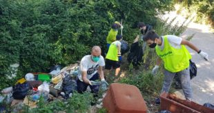 Avezzano: i volontari di Fare Verde scoprono discarica abusiva in via Papacqua