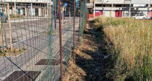 """Montesilvano, ex area ciclocross, ripulita l'area vicino la recinzione: Di sante (PRC) """"chi paga? Il Comune o la proprietà?"""""""