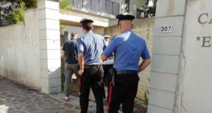 Montesilvano, Forze dell'ordine a villa Falini, in 17 denunciati per occupazione abusiva di edificio pubblico